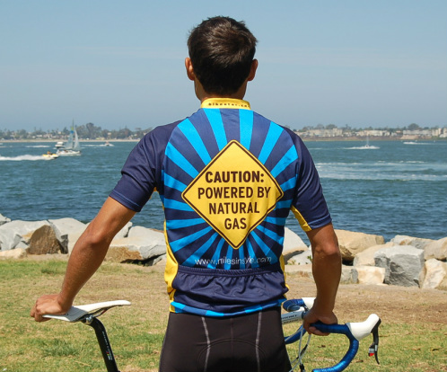 Caution Design Jersey Miles In Style Cycling Jerseys